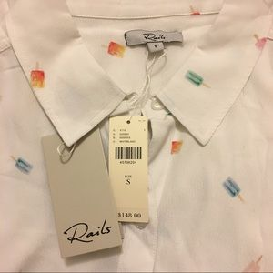 1dd9c0cfab07 Anthropologie Tops - ANTHROPOLOGIE Rails Summertime Buttondown Shirt